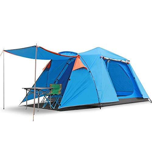SKYLINK 2-3 Person 4-Season Large Family Waterproof Lightweight Backpacking Tent for Camping Hiking Travel Climbing - Easy Set Up