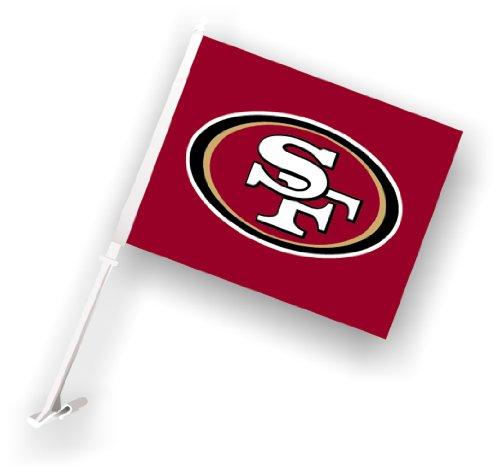NFL San Francisco 49Ers Car Flag