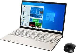 富士通 ノートパソコン FMV LIFEBOOK AH53/E3 15.6インチ Core i7 SSD 512GB 8GBメモリ Microsoft Office 2019 Home & Business搭載 FMVA53E3G-K2547D...