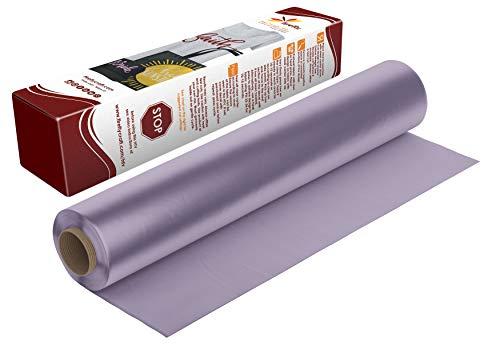 Firefly Craft Regular Lavender Heat Transfer Vinyl | Lavender HTV Vinyl | Lavender Iron On Vinyl for Cricut and Silhouette | 5 Feet by 12.25 Roll | Heat Press Vinyl for Shirts