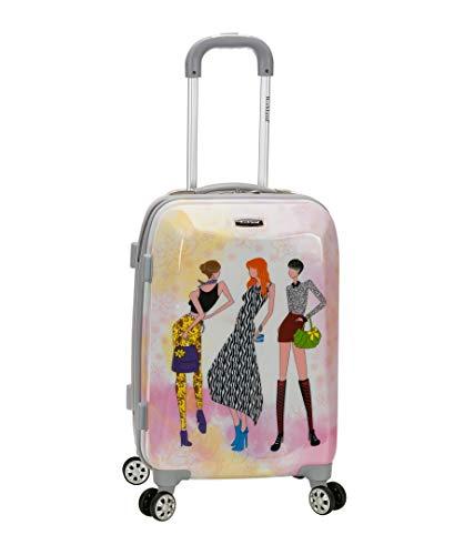 Rockland Vision Hardside Spinner Wheel Luggage,...