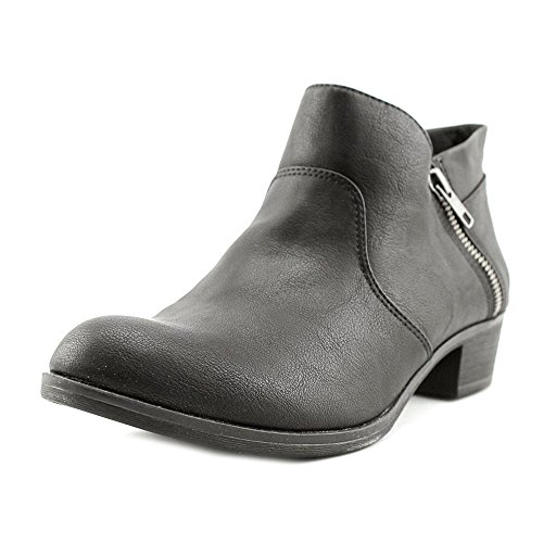 American Rag Womens Abby Almond Toe Ankle Fashion Boots, Black Smooth, Size...