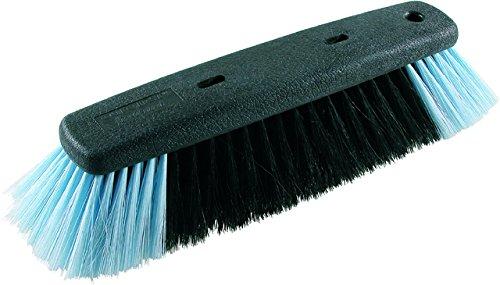 Coronet 470015001Fix Besen für den Innenbereich, 28cm, dunkel grau/gelb, 28x 30x 30cm