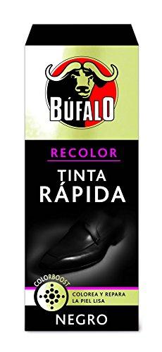 BÚFALO tinta rápida para zapatos color negro caja 25 ml