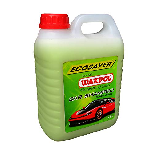 Waxpol Ecosaver Car Shampoo Concentrate - 2.5 LTR. (for Bucket, Foam & Snow Foam Wash)