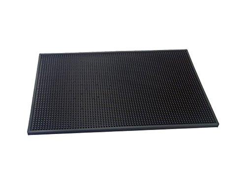 The Bars Bars Muismat, rubber, zwart, 45 x 30 x 1 cm