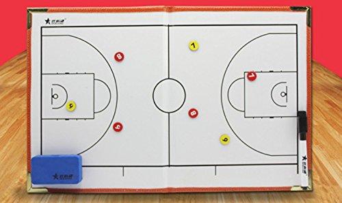 Sportivo allenatore gioco sandbox basket tattiche cartella magnetica