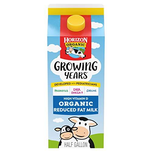 Horizon Organic Growing Years 2% Milk with DHA Omega-3, Half Gallon