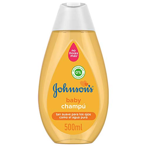 Johnson's Baby Champú Clásico, pelo suave, brillante e hidratado - 500 ml