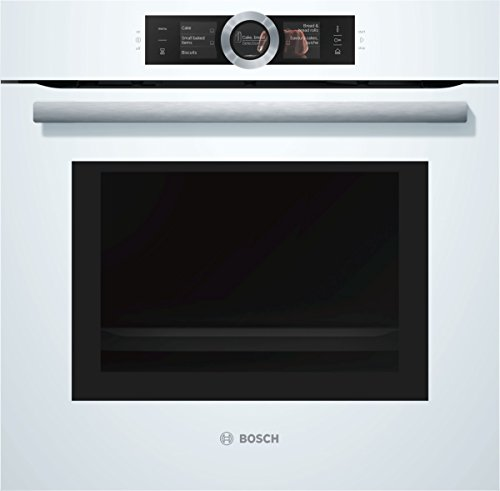 Bosch, 8 series elektrische oven A, 67 l, pyrolyse zelfreinigend, PerfectRoast and PerfectBake, roestvrij staal, HNG6764S6