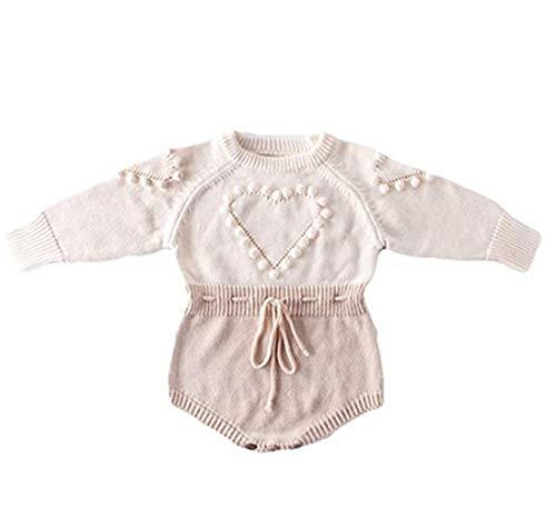 Newborn Baby Girl Sweater Romper He…