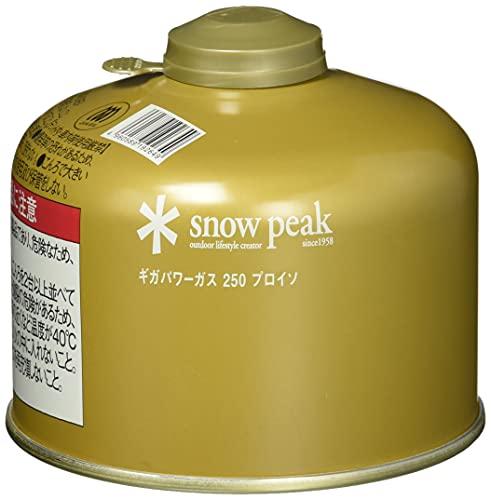 スノーピーク(snow peak) ギガパワーガス250 プロイソ GP-250GR