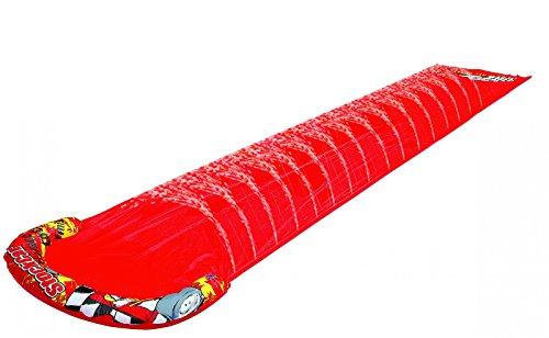 Best Sport- Toboggan à Eau, 64542, Rouge, 500 x 90 cm
