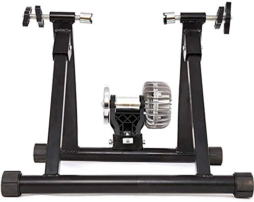 CFSAFAA Bicycle SKTY Exercise Magnetic Stand Bike Trainer Stand Bicycle for Mountain Road Bikes with Foldable Bicycle Exercise Stand Front Wheel Riser Block 0707 Various Bicycles (Color : -)