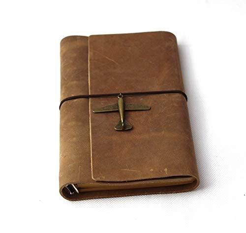 MISDD Cuaderno de Notas Efectos de Escritorio de Ultralarge Bloc de Notas de Cuero Grueso Cuaderno del Diario (Color : 2)