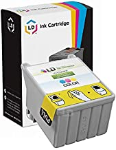 LD Remanufactured Ink Cartridge Replacement for Epson T008 T008201 (Color)