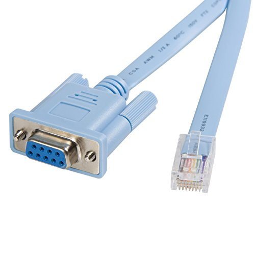 StarTech 6 ft. RJ45 to DB9 Cisco Console Management Router Cable - M/F (DB9CONCABL6)