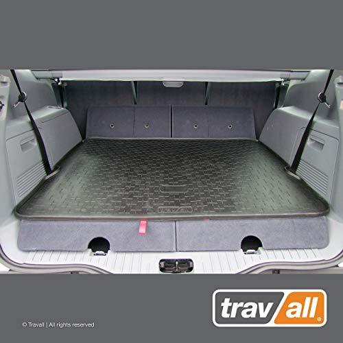 Travall Liner Tapis en Caoutchouc Compatible avec Ford S-Max (2006-2015) TBM1016 - Tapis de Coffre en Caoutchouc sur Measure