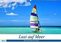Lust auf Meer - Wasserfreuden in Kuba (Wandkalender 2022 DIN A2 quer): Wassersport im Urlaub an Kubas Kuesten (Monatskalender, 14 Seiten )