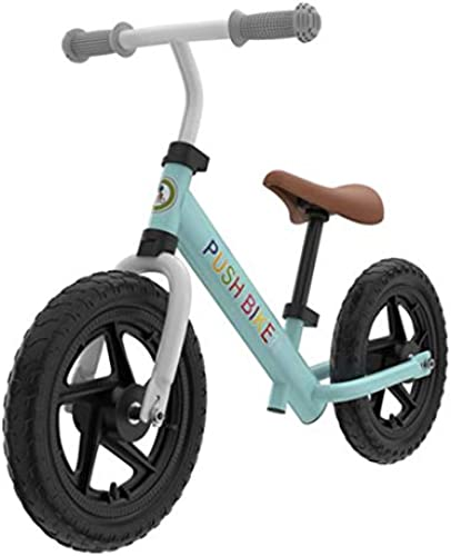 KuanDar Sports Fahrrad Ohne Pedal, 12 , Moosgummireifen, Verstellbarer Lenker, Aluminiumlegierung