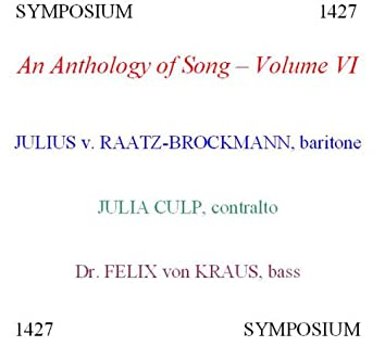 An Anthology of Song, Vol. 6