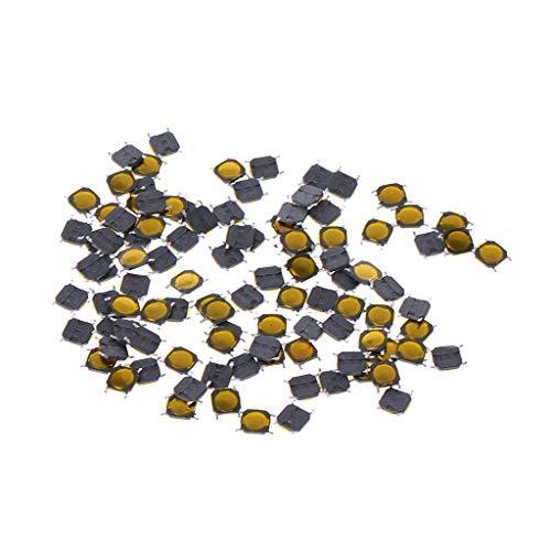 FangWWW Taster, 4 x 4 x 0,7 mm, 4-polig, SMD, Mikrotaster, 100 Stück