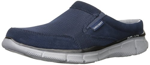 Skechers Men's Equalizer Coast Trainers, Blue (Navy), 43 EU