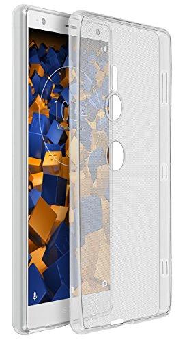 mumbi Hülle kompatibel mit Sony Xperia XZ2 Handy Hülle Handyhülle dünn, transparent