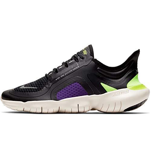 Nike Free RN 5.0 Shield (BV1224-001) Scarpa Running Black/Purple/Yellow - Donna - 38 EU