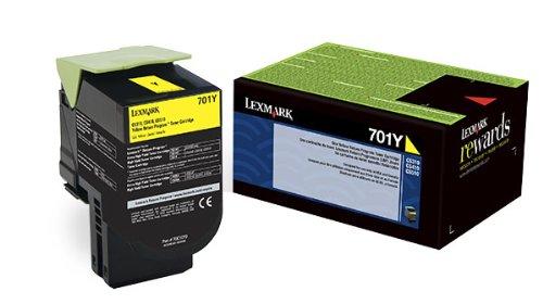 LEX70C10Y0 - 70C10Y0 Toner LEX-701Y 1000 Page-Yield by Lexmark