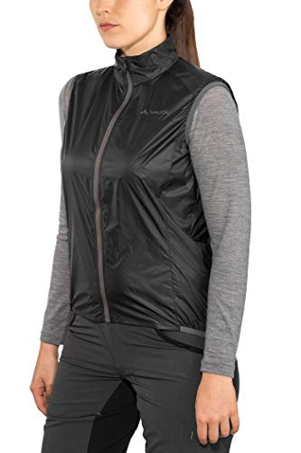 VAUDE Damen Weste Women's Air Vest III, black, 38, 408070100380