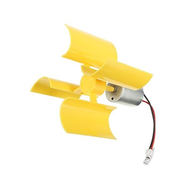 SYWAN 360°Micro Wind Generator Vertical Turbines Blades Mini Motor for DIY 1
