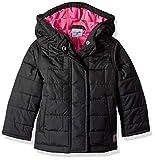 Carhartt Girls' Toddler Amoret Quilted Jacket, Black, 2T