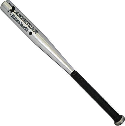 "MFH American Baseball - Bate de Baseball (Aluminio) Plata Plata Talla:26"""