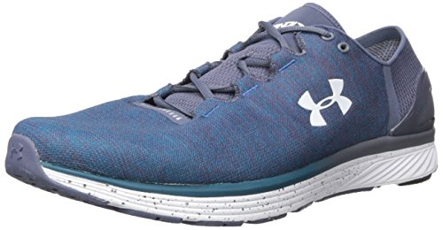 Under Armour UA Charged Bandit 3, Zapatillas de Running Hombre, Multicolor (Bayou Blue/Apollo Gray/White), 40 EU