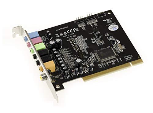 KALEA-INFORMATIQUE PCI 7.1 Kanal Soundkarte. CMEDIA CMI8768. Mit SPDIF Eingang