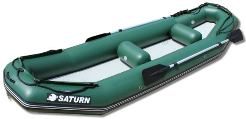 Saturn 12 ft Light River Raft / Ducky Boat - Green