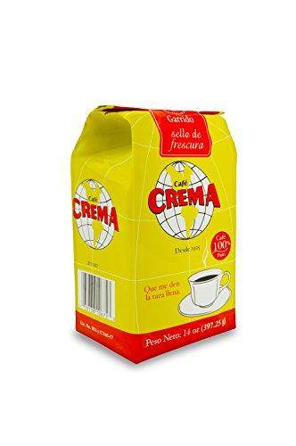 Café Crema Ground Coffee From Puerto Rico 14 Ounce