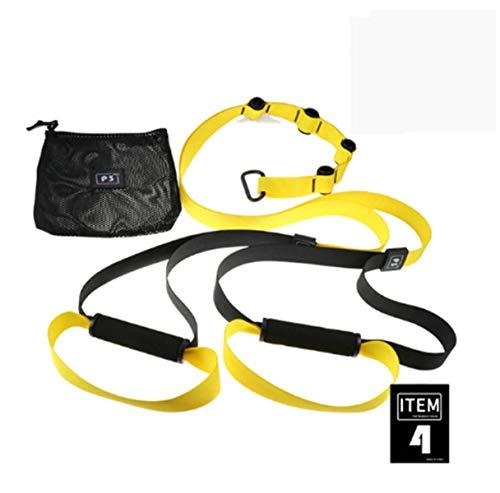 XIWANG Bandas De Resistencia Fitness Hanging Belt Training Gym Entrenamiento Suspensión Ejercicio Tire De La Cuerda Estiramiento De Las Correas Elásticas PC 1 D