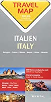 Reisekarte Italien 1:800.000: Travel Map Italy