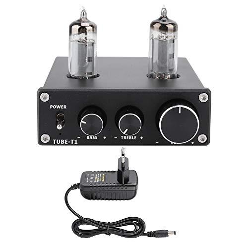 Audio Buizenversterker HiFi Treble Bass Electron Valve Tube Voorversterker DC12V Versterker Voorversterker Stereo Gal Voorversterker Decoder Effector voor Active Audio Home Theatre-systeem (EU)