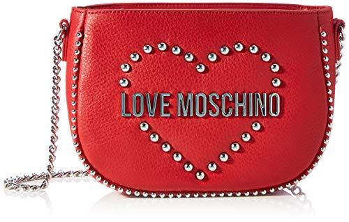 Love Moschino JC5632PP0BKA0500, Billetera para Mujer, Rojo, Normale