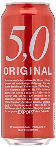 5,0 Original Export EINWEG, 500 ml