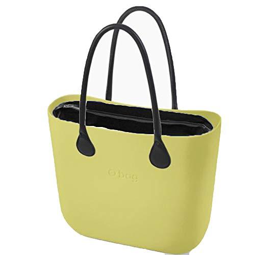 OBAG - Bolso al hombro de Caucho para mujer Verde Verde 31x39x14cm