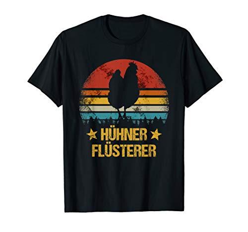 Hühner Flüsterer Landwirt Bauer lustiges Geschenk Huhn Hahn T-Shirt