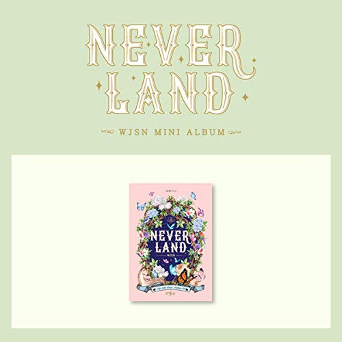 K-POP WJSN Cosmic Girl - Neverland, 8th Mini Album, Ver. II incl. CD, Photobook, Member Photocard, Unit Photocard, Pre-Order Benefit, Folded Poster, Extra Photocards
