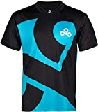 Cloud9 Official Jersey - 2018 Rerelease Edition, for Adults & Teens, Dual Color, Printed Graphic Logo, Merchandise - Esports Apparel for Young Gamers, Players & Fans (Black, Small)
