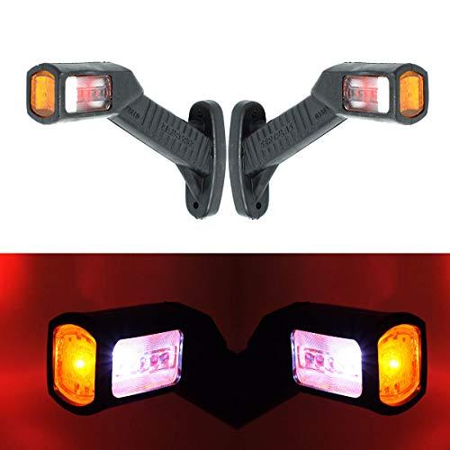 2x SMD LED 12V 24V Umrissleuchte Begrenzungsleuchte Positionsleuchte Markierung LKW PKW