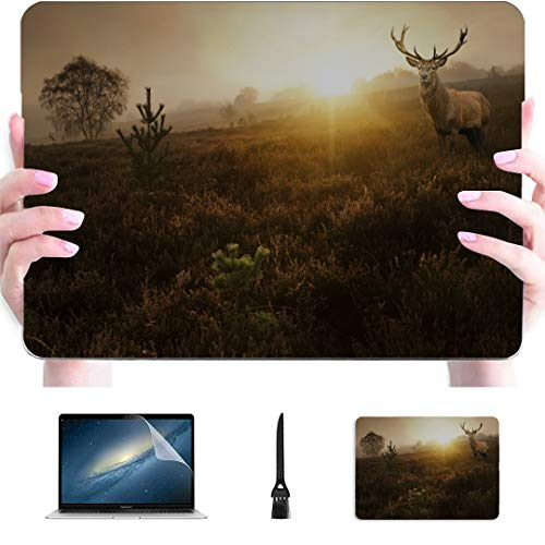 Macbook Pro 15in Funda Beautiful Elf Sika Deer Plastic Shell rígido Compatible Mac Air 13