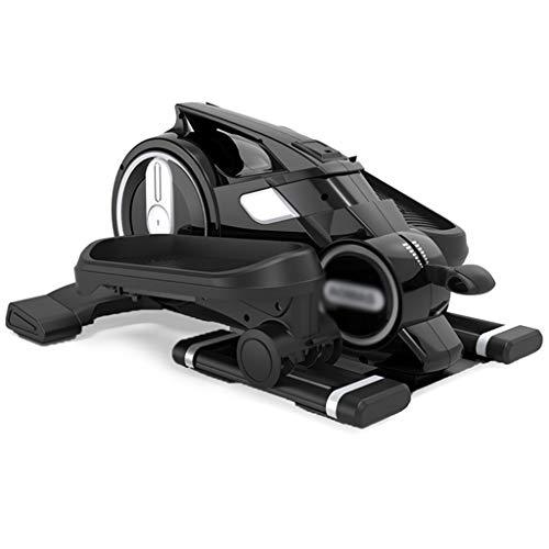 manubri palestra vida Stepper Multifuncional Máquina Elíptica para El Hogar Equipo para Correr En Interiores Equipo para Ejercicios En El Hogar (Color : Black